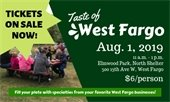 Tickets on sale now for Taste of West Fargo