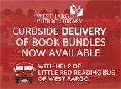 Curbside Delivery of book bundles now available