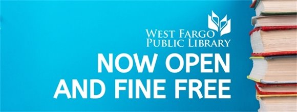 NOW OPEN AND FINE FREE