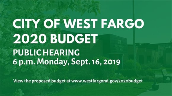 City of West Fargo 2020 Budget