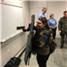 West Fargo Police Explorers having SWAT night with Moorhead Police Explorers.