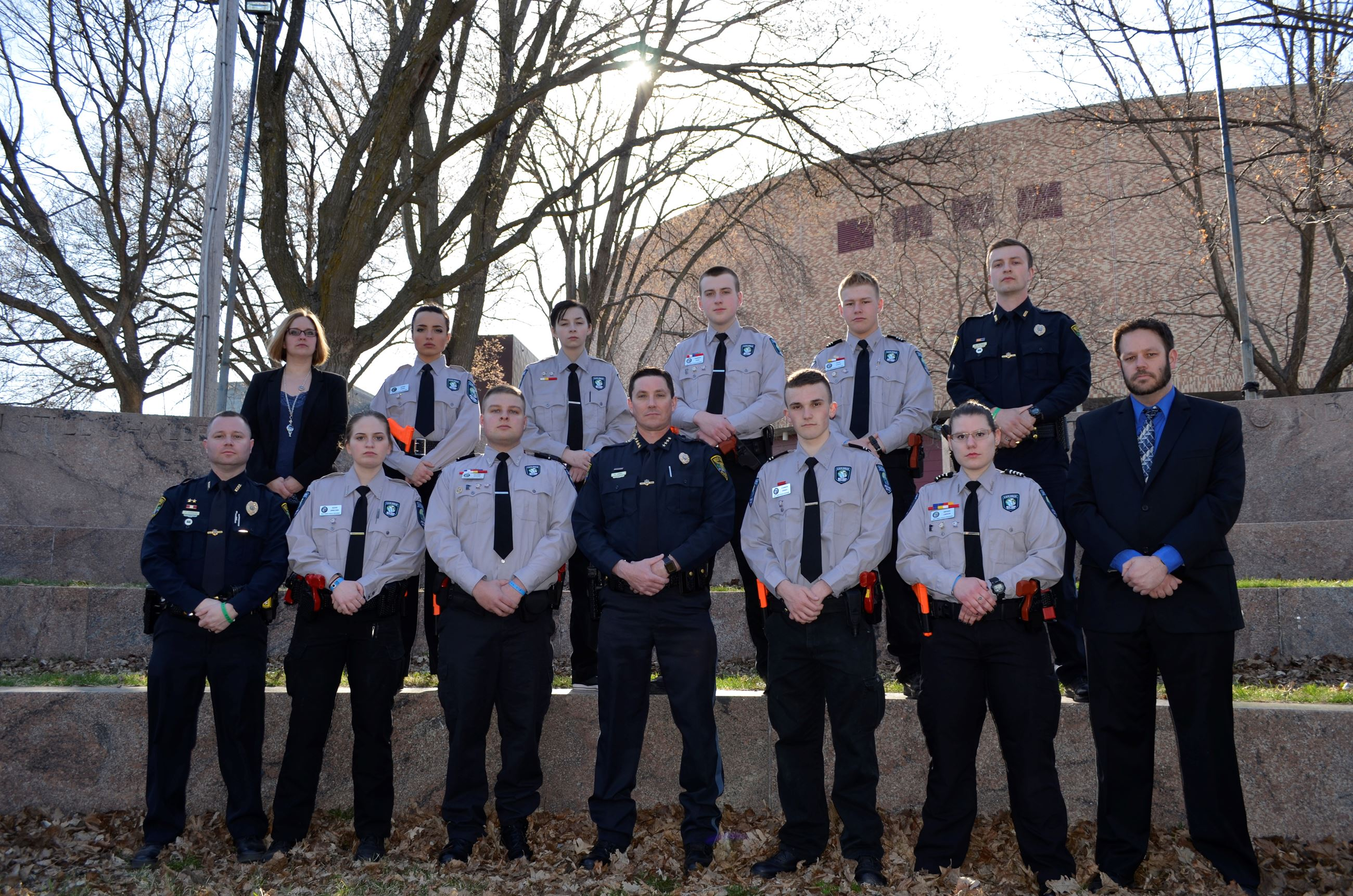 2018 West Fargo Police Explorers Crew and Police Chief
