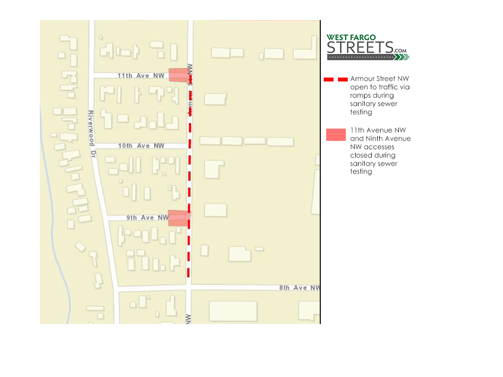 Armour Street NW Sanitary Sewer Testing