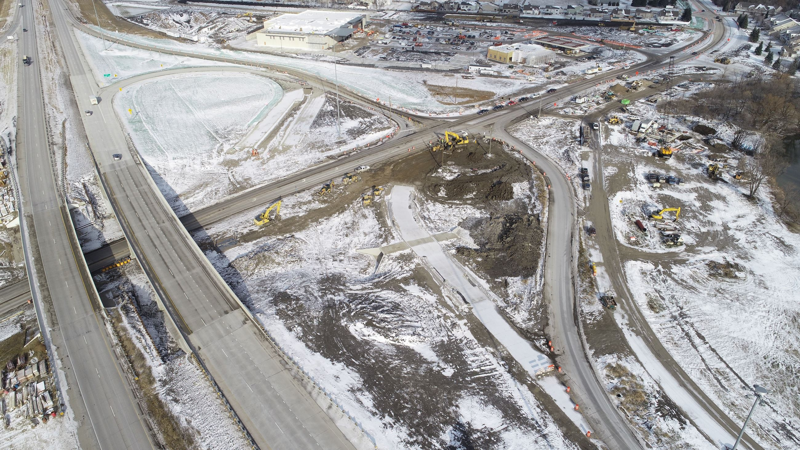 New northbound ramp