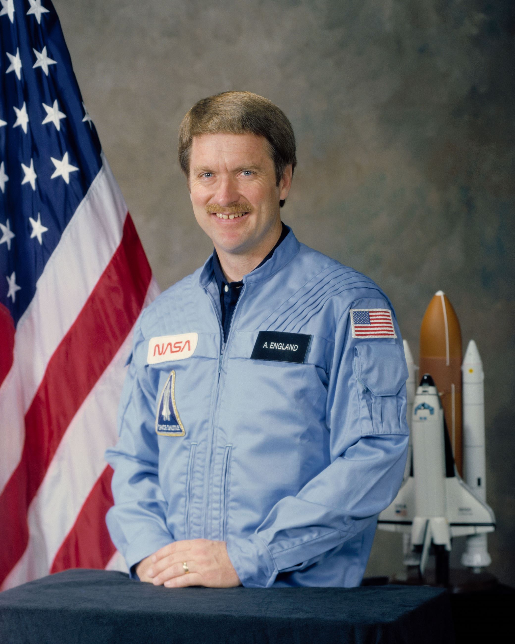 Dr. Tony England 1982 NASA portrait