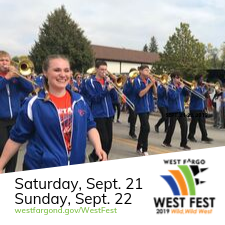 West Fest News Flash graphic