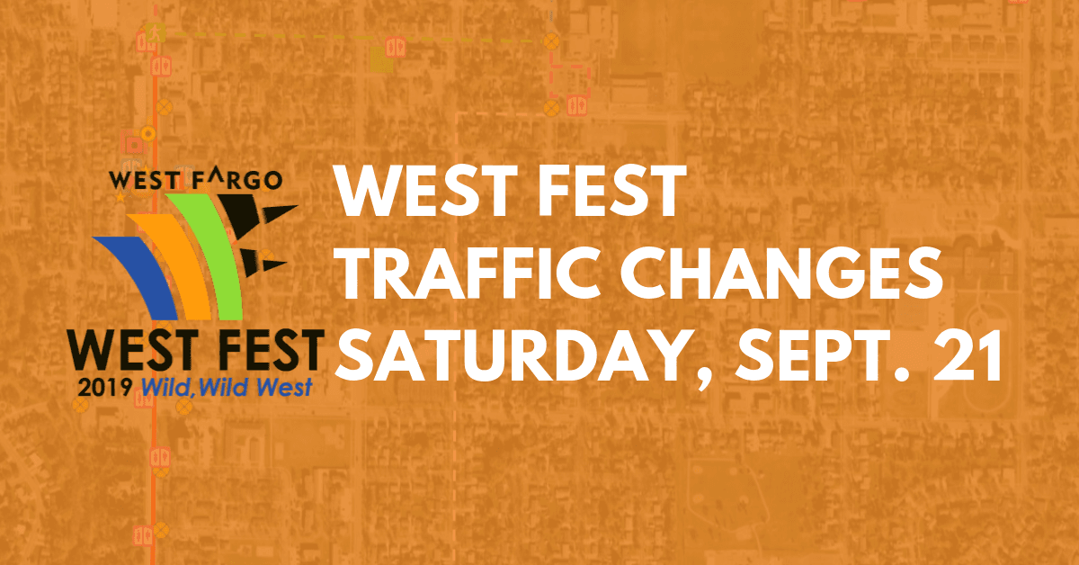 West Fest Traffic Changes Icon