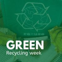 Green recycling collection week