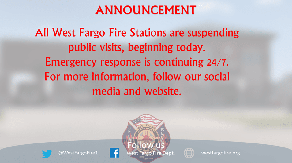 WF Fire Stations Closed