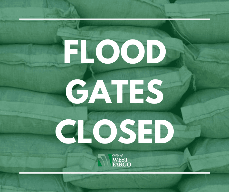 Flood Gates Close