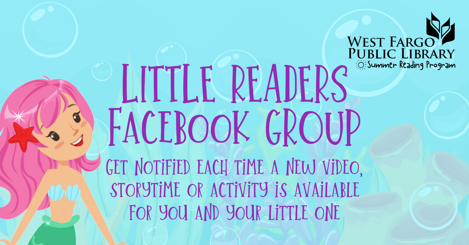 Little Readers Facebook Group