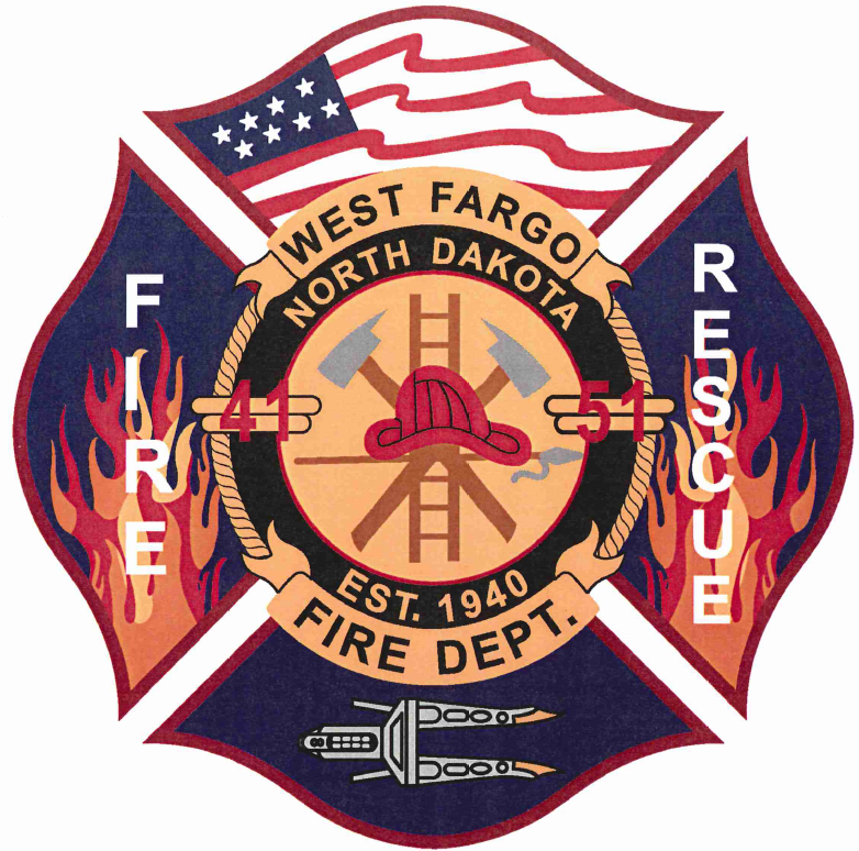 West Fargo Fire Department Patch