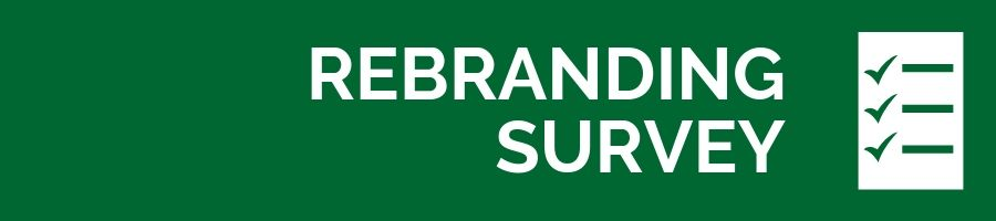 Rebranding survey graphic Opens in new window